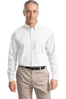 NEW Port Authority Long Sleeve Cotton Twill Shirt.S634