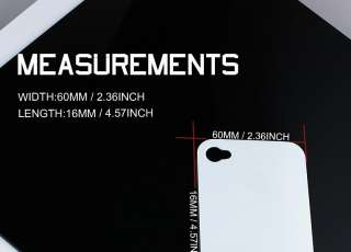 Concise White Color Apple Iphone 4/4S Protector Cover Case Life Proof