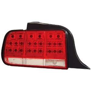 Anzo USA 321018 Ford Mustang Red/Clear LED Tail Light Assembly   (Sold
