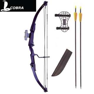SMK COBRA 45 60lb COMPOUND BOW & ARROWS ARCHERY KIT