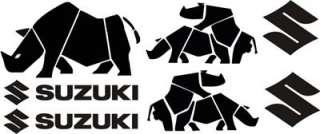 7X SUZUKI RHINO 4X4 STICKER DECAL KIT FOR SJ VITARA