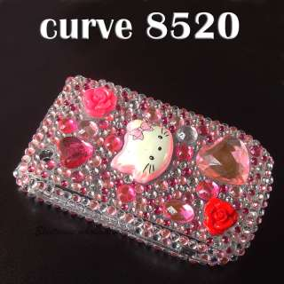 Hello Kitty Bling Diamond Hardy Cover Blackberry Curve 8520 8530 9300