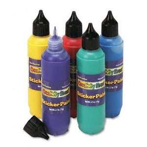 Chenille Kraft  Sticker Making Paint Set, Five Colors, 2