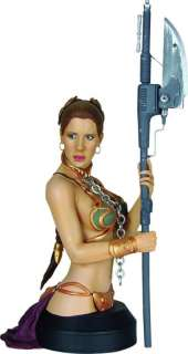 Star Wars gentle giant buste LEIA JABBAS SLAVE bust