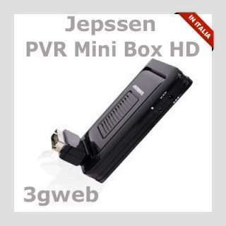 DECODER DIGITALE TERRESTRE HDMI Jepssen PVR MiniBox HD