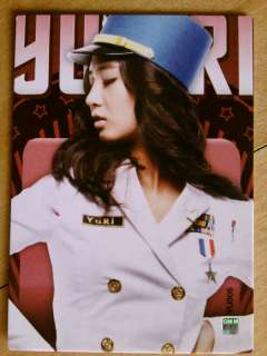 SNSD GIRLS GENERATION STAR CARD Yuri #YU006 Normal