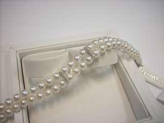 Bracciale Perle NIMEI CIELO venezia 1270 _ oro diamanti