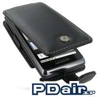 PDair Genuine Leather case for Motorola DROID 2 A955   Flip Type