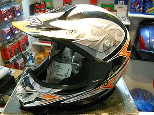 CASCO CROSS ENDURO AGV X TREAM ARANCIO TAGLIA S