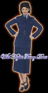 FANCY DRESS COSTUME # LADIES 1940S RAF UNIFORM LG 16 18