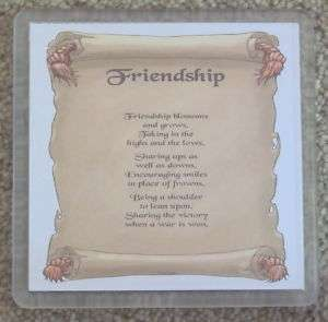 Best Special Friend Friendship Gift Coaster Drink Mat