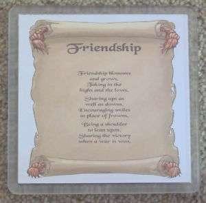 Best Special Friend Friendship Gift Coaster Drink Mat