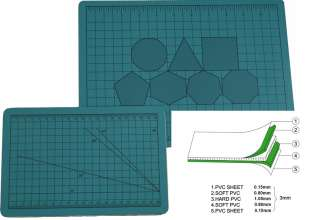 A1 Cutting Mat self Healing with grid and graduation