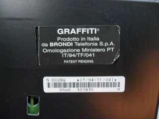 BELLISSIMO TELEFONO A QUADRO BRONDI MODELLO GRAFFITI DELLA SIP ANNI