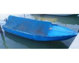Barca cacciapesca da 4,5mt con motore 25cv a Marano Lagunare