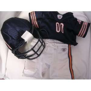 NFL Chicago Bears Build a Bear Shirt & Pants & Helmet