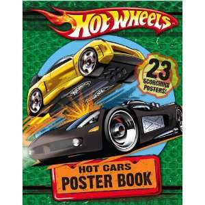 Hot Cars Poster Book (9780007307562) Books