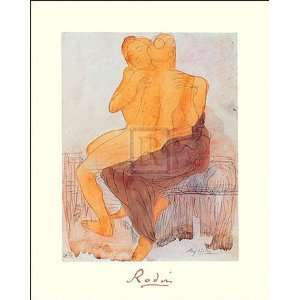 Art Poster Print by Auguste Rodin, 16x20:  Home & Kitchen