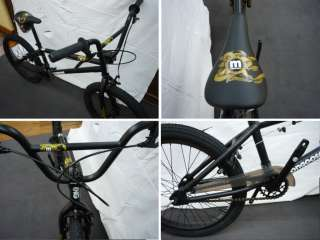 BMX Freestyle MONGOOSE Logo Noir deco or velo bike petit pignon NEUF
