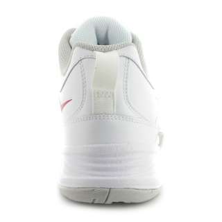 Lite X Mens Supportive Leather Training Shoes   White/Red/Grey