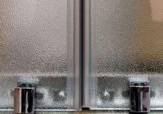 BOX DOCCIA A NICCHIA 130cm 2 anta scorrevole 128 132cm cabina parete