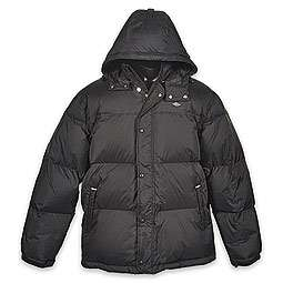 Jordan Black Cat Mens Hooded Bubble Jacket  FinishLine  Black