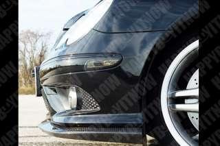 Carbon Fiber Mercedes Benz W209 CLK 55 AMG Add on Front Lip Spoiler