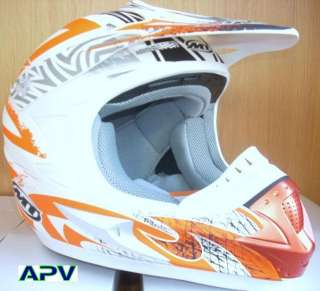 MT MX 1 Casco moto cross quad motocross Talla XL helmet