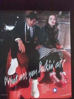 1988 Converse Mens & Womens Wrestling Shoes Ad What Are You Looking