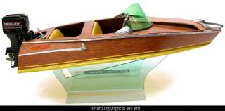 Aristocraft Torpedo model speed boat w/ Nyland Mercury outboard motor