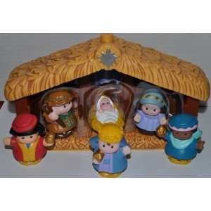 Little People 7 Piece Set   Nativity with Father Joseph, Mother Mary