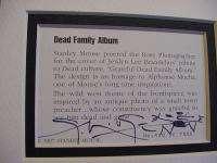 GRATEFUL DEAD SIGNED #D ART JERRY GARCIA stanley mouse