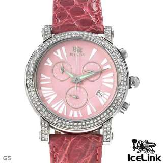 ICE LINK LY1SL Swiss Movement Chronograph Date Water Resistant Ladies