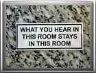 hells angels support sticker what you hear in this room achat immediat