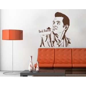 Rock Hudson   Vinyl Wall Decal