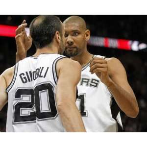 Tim Duncan, Manu Ginobili, San Antonio Spurs, Conference Finals Game 1