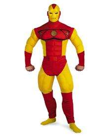 Iron Man Classic Deluxe Muscle Adult Costume