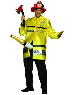 / Firefighter with Big Hose Costume