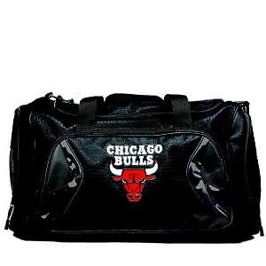 NBA Black Duffel Bag   Chicago Bulls