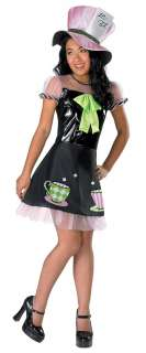 Alice In Wonderland Mad Hatter Girls Costume   Alice In Wonderland