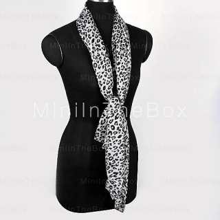 US$ 2.39   Sexy Leopard Grain Womens Long Shawls Scarf,