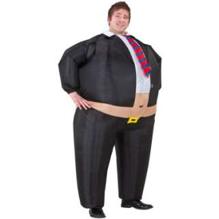 Halloween Costumes Big Boss Inflatable Belly Buster Adult Costume