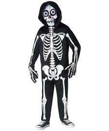 Fright Light Skeleton Costume for Kids  Skeleton Halloween Costume