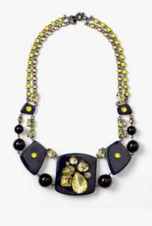Marc by Marc Jacobs  Midnight Purple Margery Necklace by Marc By Marc