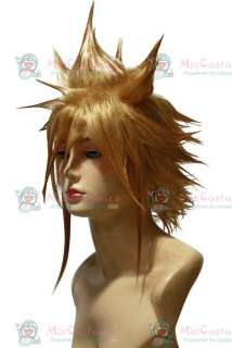 Final Fanasy VII Cloud Srife Cosplay Wig For Sale