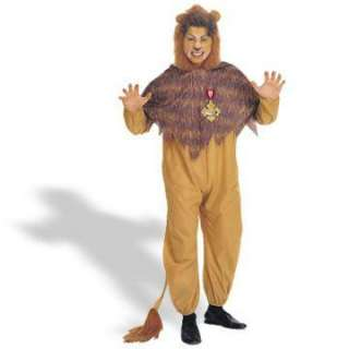 Wizard of Oz   Cowardly Lion Plus Adult Costume   The Cowardly Lion
