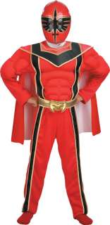 Child Red Ranger Muscle Costume   Power Rangers Costumes   15DG6373