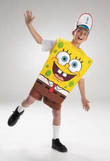 Child Spongebob Squarepants Costume   Spongebob Squarepants Costumes
