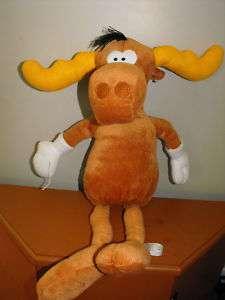 Rocky and Bullwinkle Large Plush Moose 20