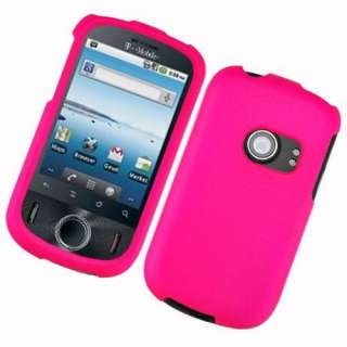 HOT PINK PHONE COVER HARD CASE FOR HUAWEI COMET U8150